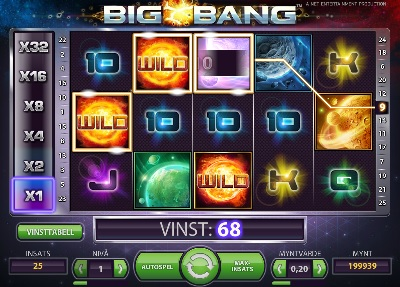 Big Bang spelautomat