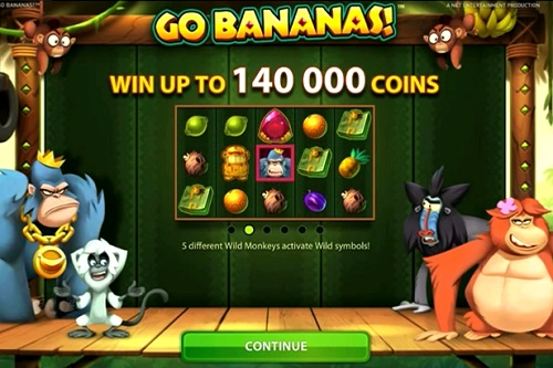 Spelautomat Go Bananas hos Mr Green