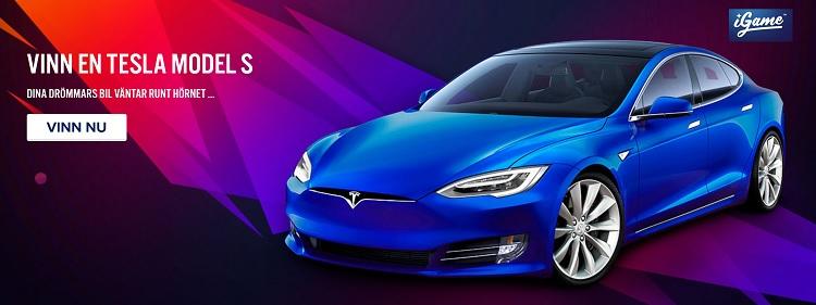 Vinn en Tesla med iGame casino