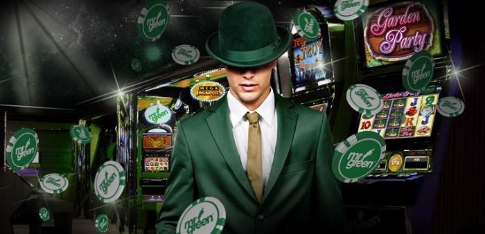 Spelautomater och jackpottar hos Mr Green