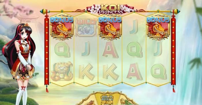 Spelautomat Koi Princess NetEnt