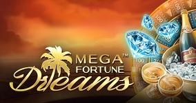 Svenska spelautomater Mega Fortune Dreams slot