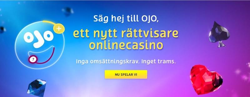 PlayOJO – Ett nytt svenskt casino