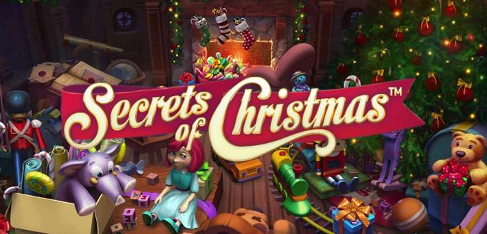 Secrets of Christmas ny NetEnt spelautomat