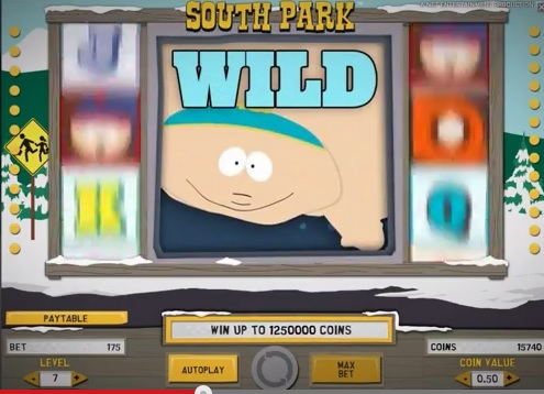 South Park mega wild win