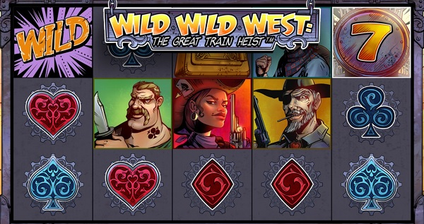 Ny spelautomat Wild Wild West: The Great Train Heist