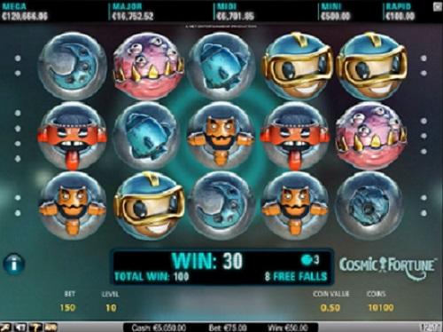 Spela gratis Cosmic Fortune
