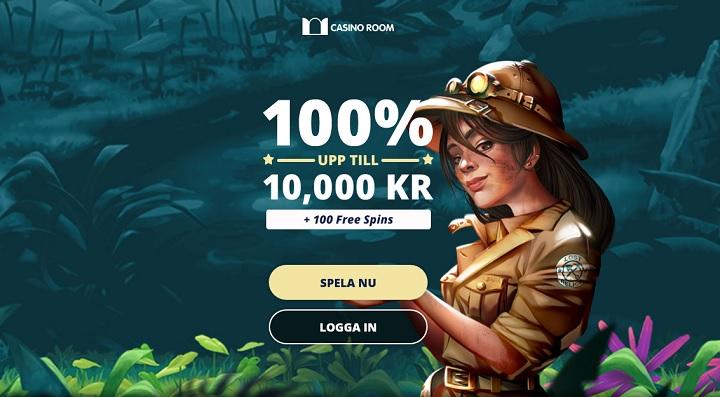 Casino Room casinobonus 2020 upp till 10000 kr