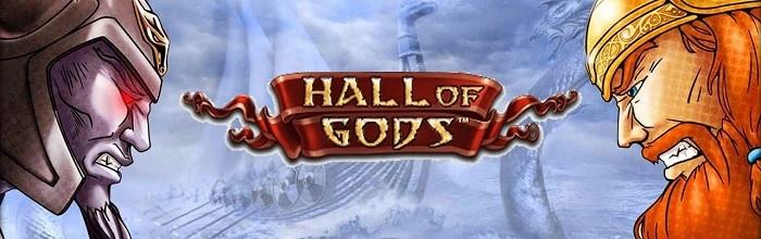 Jackpottspelet Hall of Gods är ett spelen med stora jackpottar hos Snabbare
